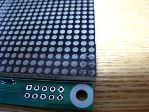 秋月電子通商 32x16ドットLEDマトリクス表示基板 不良品